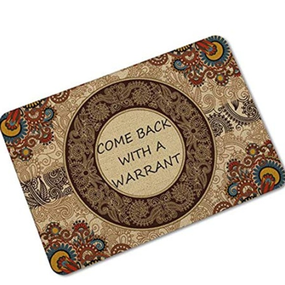 Other - OHYESS Funny Come Back with A Warrant Entrance Ind